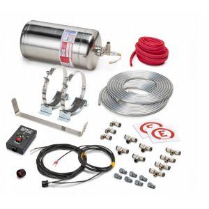 Elektrische Systeemblusser 4.25 liter RVS