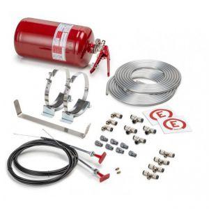 Mechanische Systeemblusser 4.25 liter Staal