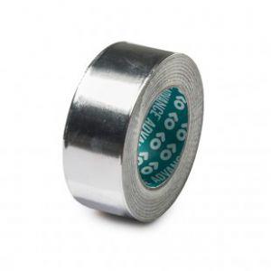 Racers tape Aluminium of Transparant