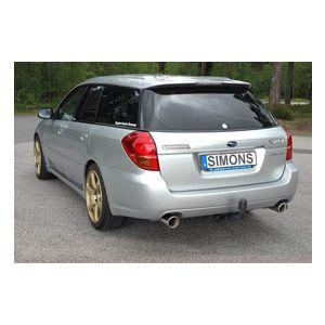 Touring Wagon 2004-2009 4 cilinder: 2.0R, 2.5i