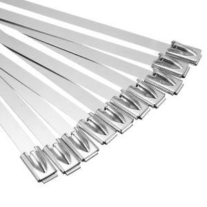 Metalen bevestigingsstraps, afmetingen 4,6 x 300 mm per stuk
