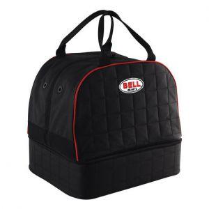 Helmet & HANS Bag Black Quilted