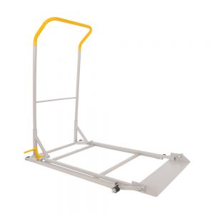 GREY QUICK LIFT JACK - WIDE BODY WITH SAFETY LOCK