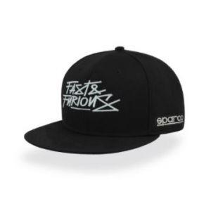 FAST & FURIOUS flat visor cap zwart