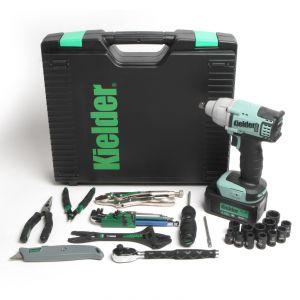 """Kielder KWT-002-TK1 3/8"""" Impact Wrench 30pcs Tech Kit"""