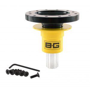 B-G RACING  STEERING WHEEL QUICK RELEASE - WELD-ON - 6 POINT