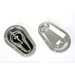 Grayston Bonnet Plates Silver