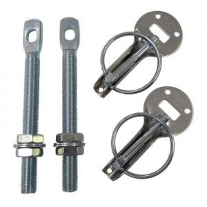 Grayston Competition Bonnet Pin Kit Stainless Steel