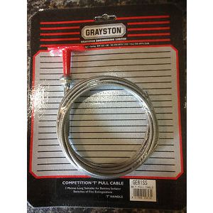Grayston Competition T Pull Cable - RVS - 3,0 meter