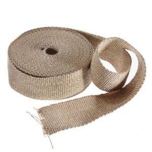 Uitlaat Isolatieband / Heat Wrap 5cm X 7,5m Beige