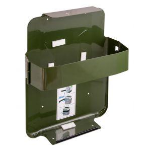 Jerrycan houder met metaalband (voor 20 ltr jerrycan)