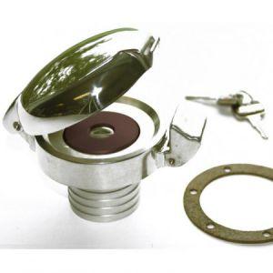 Tankdop met hals (50mm), met slot