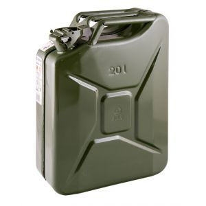 Jerrycan staal 20 liter