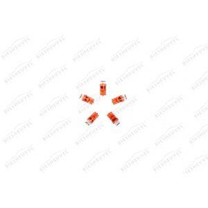 VDO Steeklamp LED - T10 - W2.1x9.5d - 12V Rood