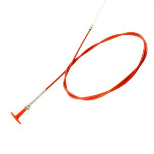 Lifeline Pull Cable, Red T-Handle