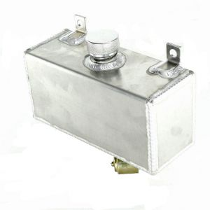 Horizontale Ruiten Vloeistof Tank Aluminium
