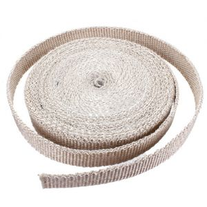 Uitlaat Isolatieband / Heat Wrap 2,5cm X 15m Wit