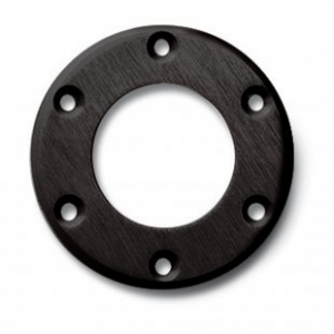 Aluminium Ring voor Claxon Zwart