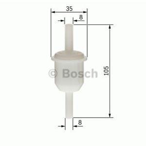 Bosch Benzine Filter Klein