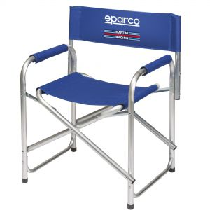 Sparco Martini Racing Folding Alloy Paddock Chair