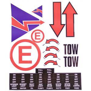Scrutineer Sticker Sheet