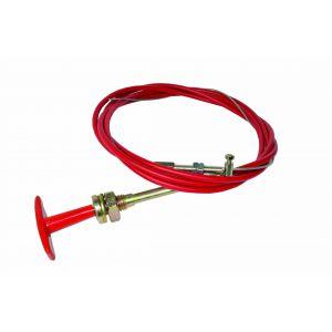 FSE Handle Pull Cable 3.6 meter met nylon binnenkant