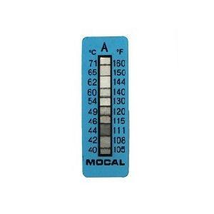 Mocal temperatuurstrip 40-71 graden Celcius