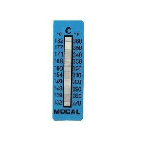 Mocal temperatuurstrip 132-182 graden Celcius