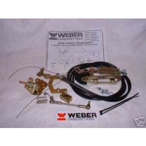 WEBER DCOE/SP THROTTLE LINKAGE TOP MOUNT TWIN CABLE