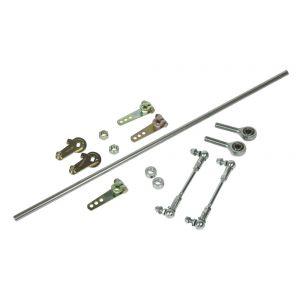 Universal 4 cylinder rod linkage set
